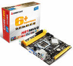 Biostar H81MHV3 Ver. 7.x Socket 1150 VGA HDMI 6-Channel HD Audio Micro ATX Motherboard