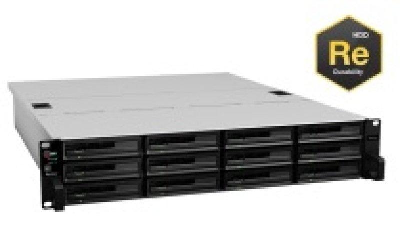 Synology RackStation RS3614RPxs 12TB (12 x 1TB WD RE) 12 Bay 2U NAS