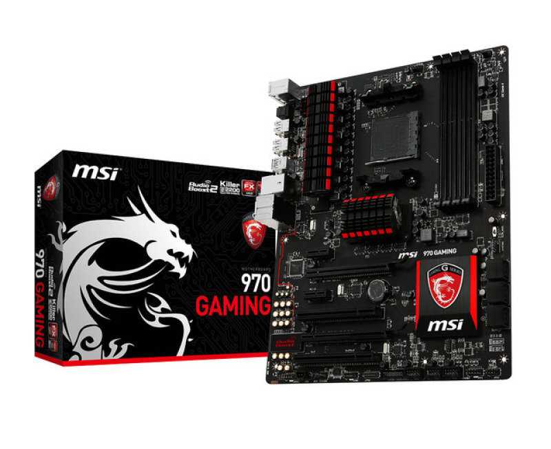 Image of MSI 970 GAMING Socket AM3+ 7.1-Channel HD Audio ATX Motherboard