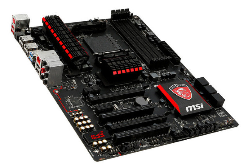 MSI 970 GAMING Socket AM3+ 7.1-Channel HD Audio ATX Motherboard