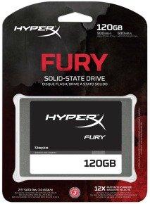 HyperX Fury Series 120GB SATA3 2.5inch 7mm height SSD