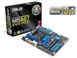 Asus M5A97 EVO R2.0 970 Socket AM3+ 8 Channel Audio ATX Motherboard