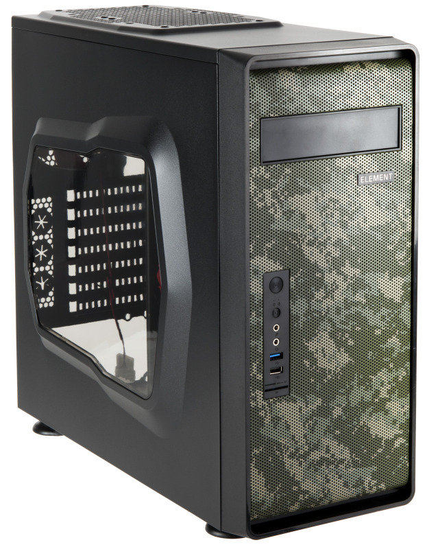 Zinc 350 camouflage PC Gaming Case