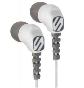 Scosche thudBUDS Sport Earphones - White/Grey