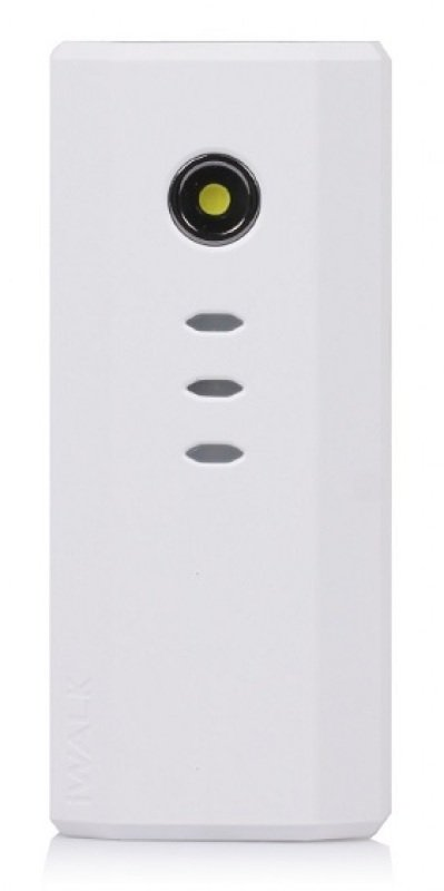 Image of Iwalk Extreme Ube5200d Dual Usb Rechargeable 5200mah Backup Battery (white) For Smartphones And Tablets