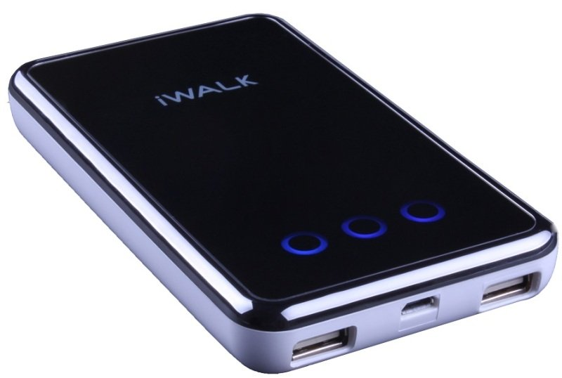 Image of Iwalk Extreme Ube8200d Dual Usb Rechargeable 8200mah Backup Battery (white) For Smartphones And Tablets