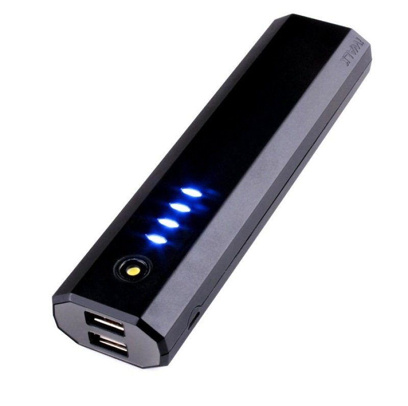 Image of Iwalk Extreme Ube10000d Dual Usb Rechargeable 10000mah Backup Battery (black) For Smartphones And Tablets
