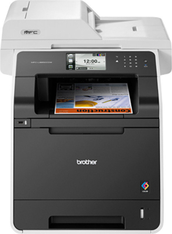 Brother Mfcl8850cdw Color Laser Allinone Printer