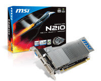 MSI G210 1GB DDR3 DVI VGA HDMI PCI-E Graphics Card