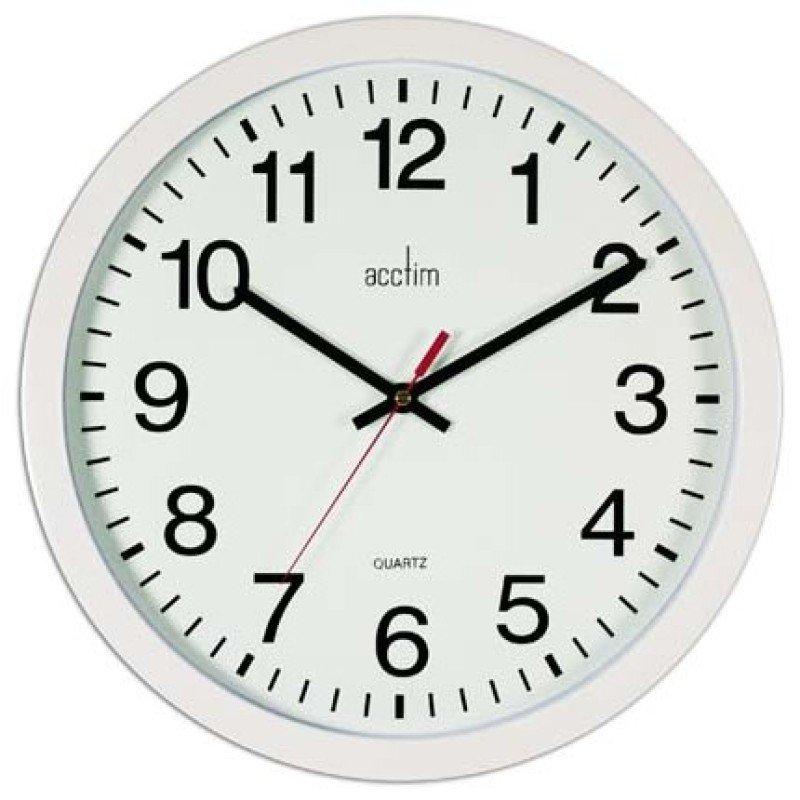 Image of ACCTIM CONTROLLER WALLCLOCK 368MM WHITE