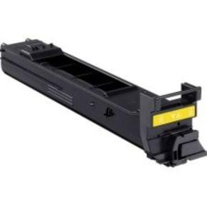 Konica Minolta High Yield Yellow Toner Cartridge 8000 Pages