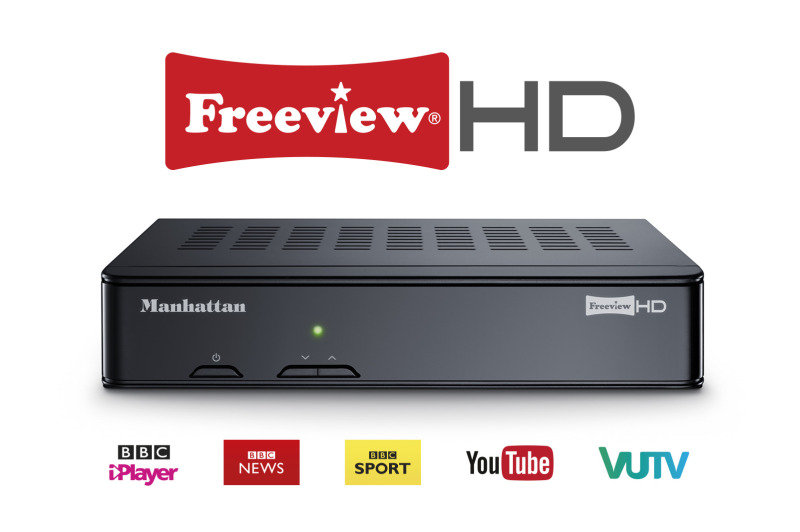 EXDISPLAY Plaza HD-T2 HD Freeview Receiver