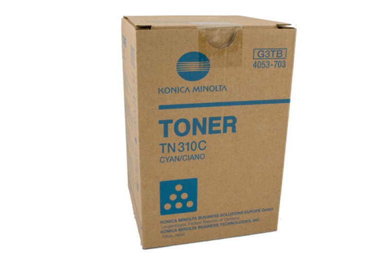 Konica Bizhub Tn310 Cyan Toner Cartridge