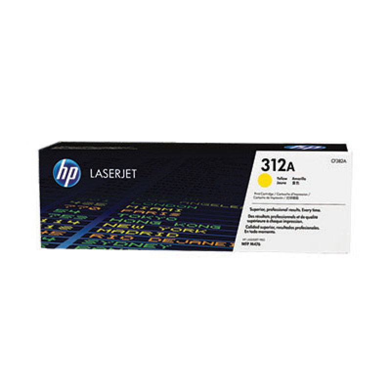 HP 312A Yellow LaserJet Cartridge - CF382A