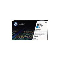 HP 654A Cyan Toner Cartridge - CF331A
