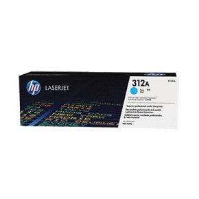 HP 312A Cyan LaserJet Cartridge - CF381A