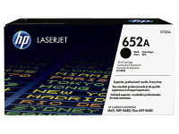 HP 652A Black LaserJet Cartridge - CF320A