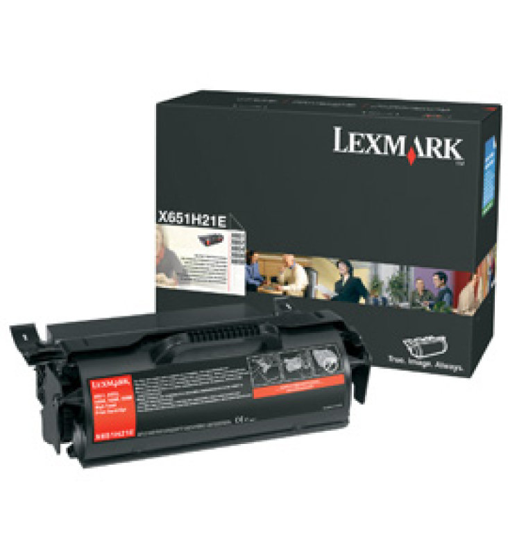*Lexmark X651de Black Toner Cartridge
