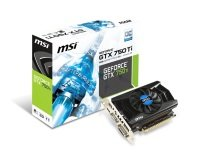 MSI GTX 750 Ti 2GB GDDR5 VGA Dual Link DVI-I HDMI PCI-E Graphics Card