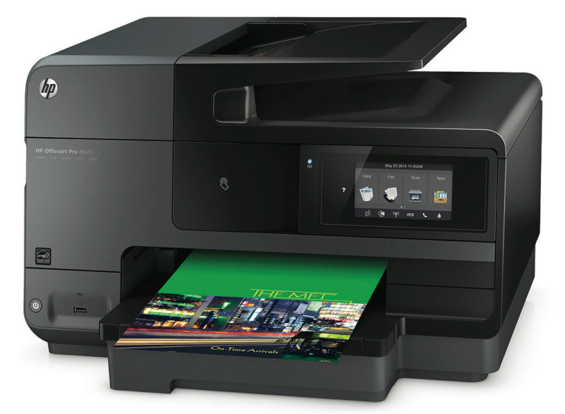 Image of HP Officejet Pro 8620 e-All-in-One Wireless Multi-Function Colour Inkjet Printer