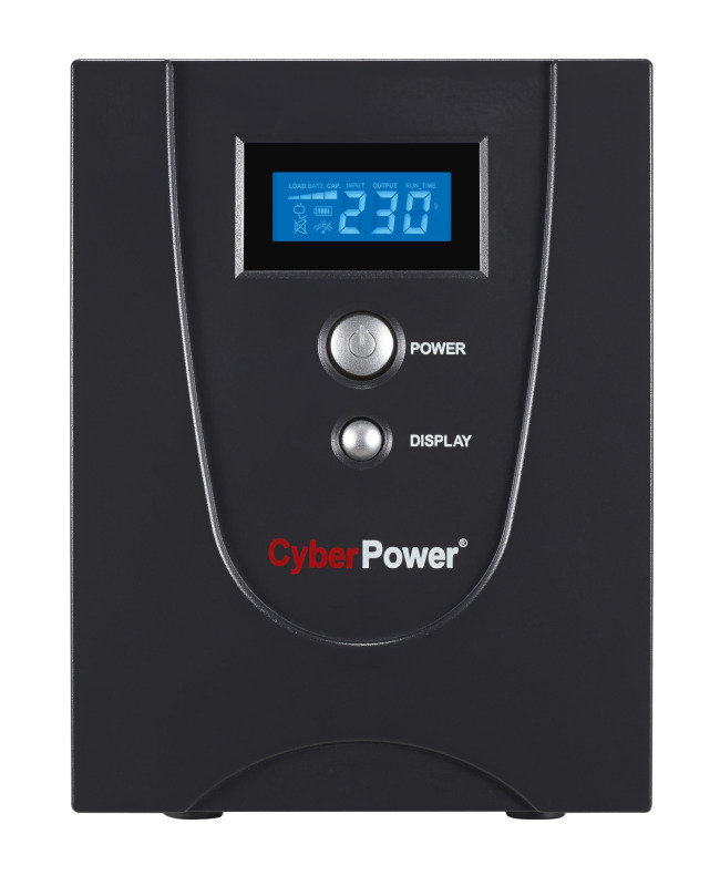 CyberPower VALUE2200EILCD Value Series Uninteruptible Power Supply (1320W/2200VA)