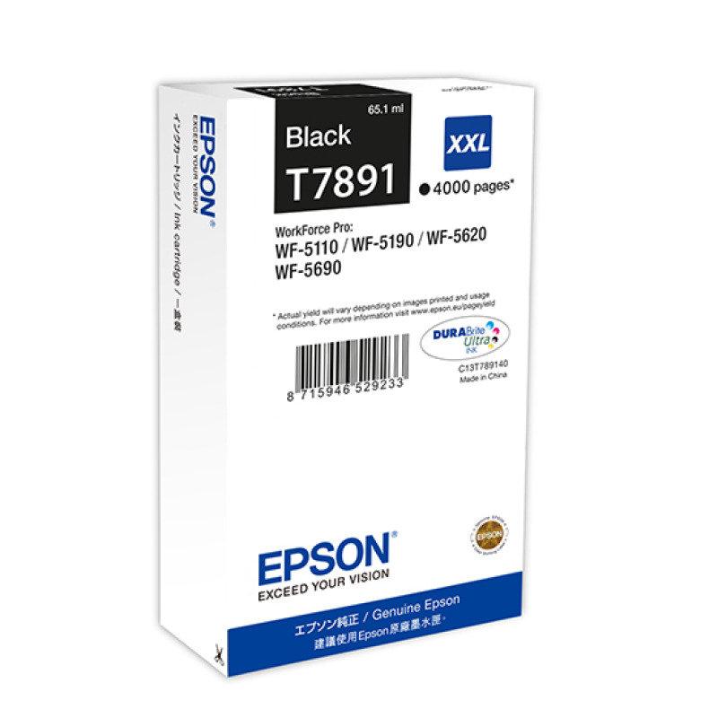 Epson T7891 Black Extra HC Ink Cartridge