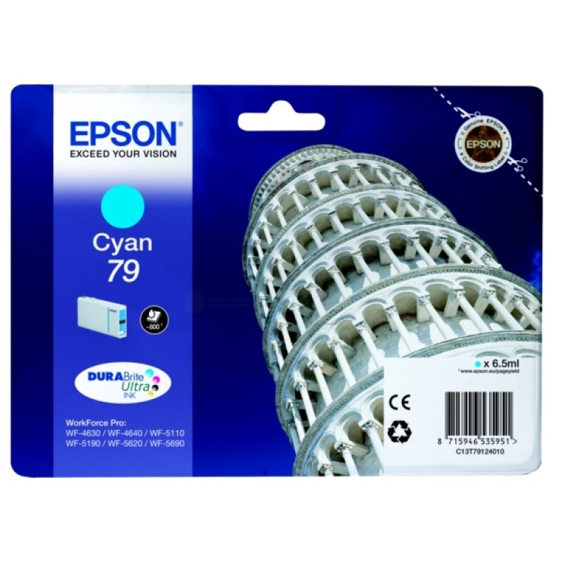 Epson 79 DURABrite Cyan Ink Cartridge