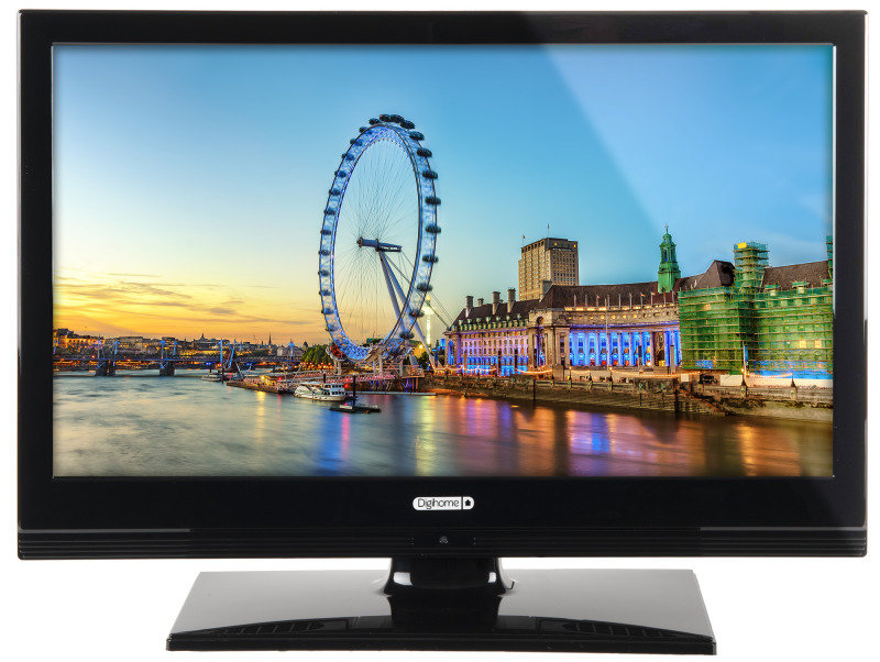 Digihome 19&quot Wide LED DVD TV