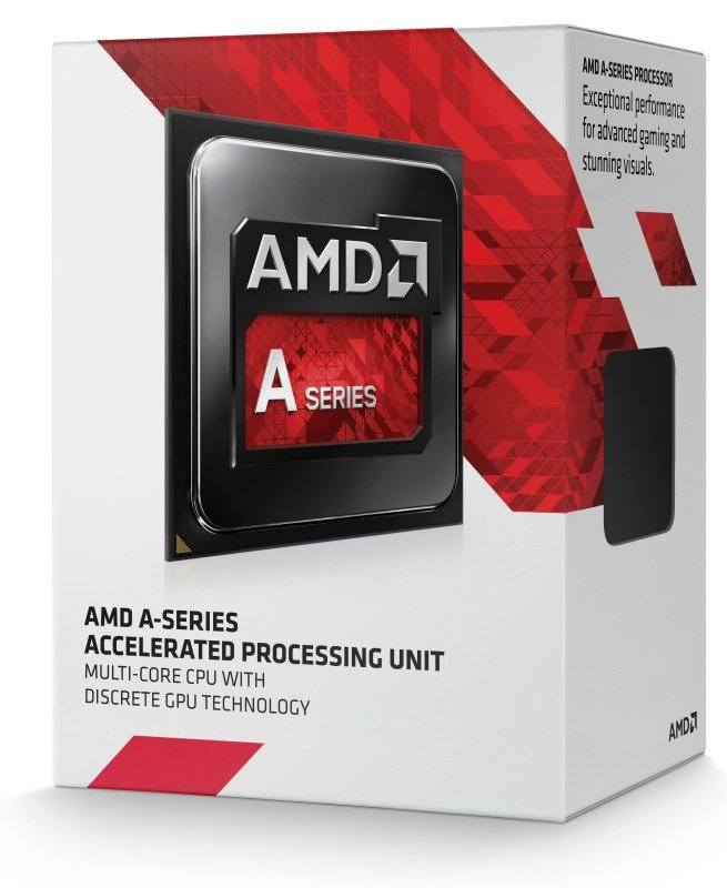 Image of AMD A10-7800 3.5GHz Socket FM2+ 4MB L2 Cache Retail Boxed Processor