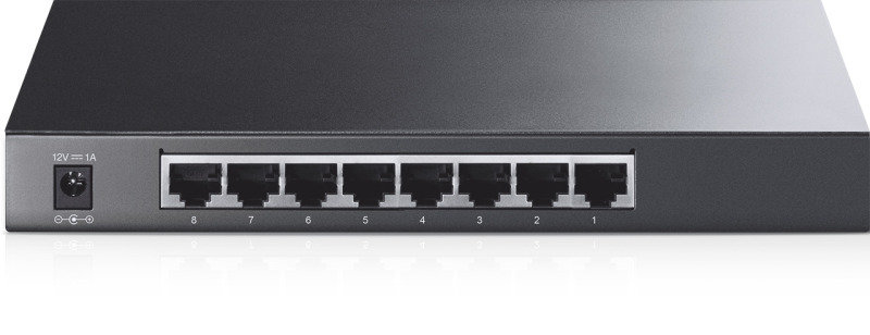TP-Link TL-SG2008 - 8-Port Gigabit Smart Switch