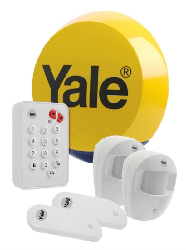 Yale Easy Fit Wireless Standard Home Intruder Alarm Kit