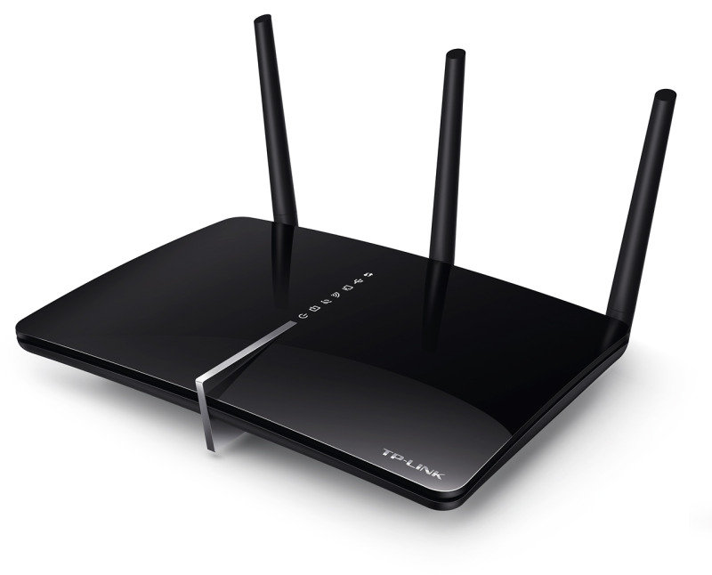 TP-Link Archer D7 - AC1750 Wireless Dual Band Gigabit ADSL2+ Modem Router