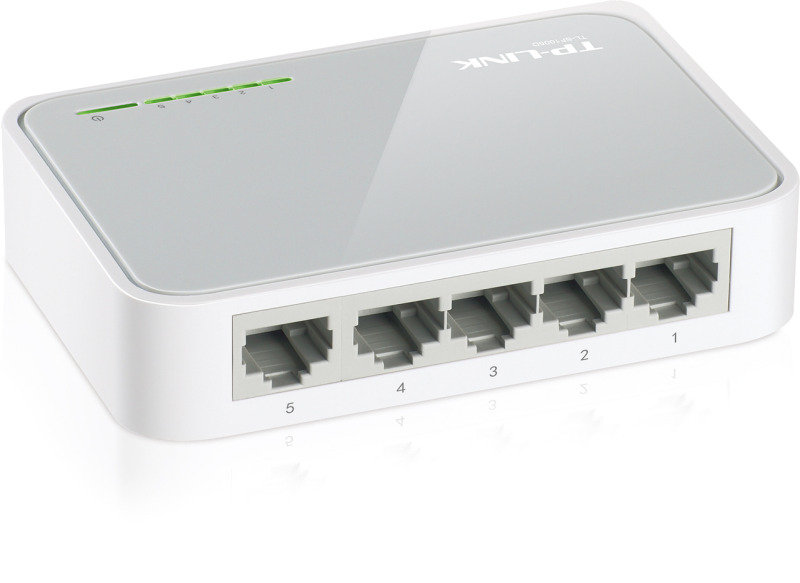 TP-LINK TL-SF1005D 5-Port 10/100Mbps Unmanaged Desktop Switch