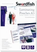 Swordfish A3 Laminating Pouches - 50 Pack
