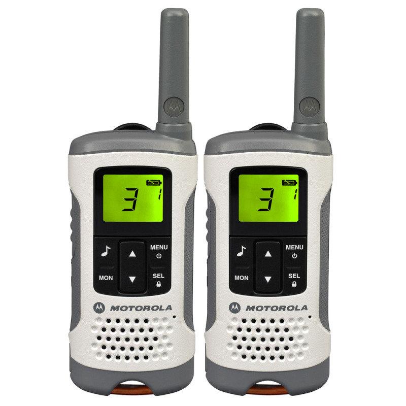 Motorola TLKR T50 500mw 6km 2 Way Radio Walkie Talkie