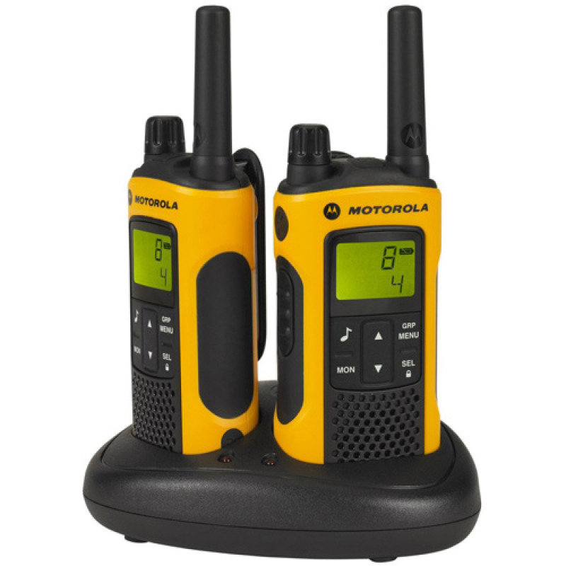 Motorola TLKR T80EX 500mw 10km 2 Way Radio Walkie Talkie