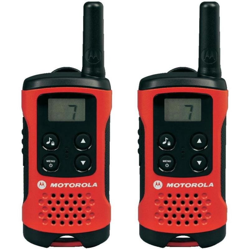 Motorola TLKR T40 500mw 4km 2 Way Radio Walkie Talkie
