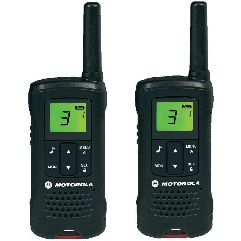 Motorola TLKR T60 500mw 8km 2 Way Radio Walkie Talkie