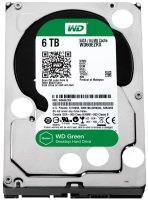 "WD Green 6TB 3.5"" SATA Desktop Hard Drive"