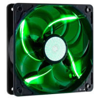 Cooler Master SickleFlow 120 Green LED Fan - 120mm, 2000RPM