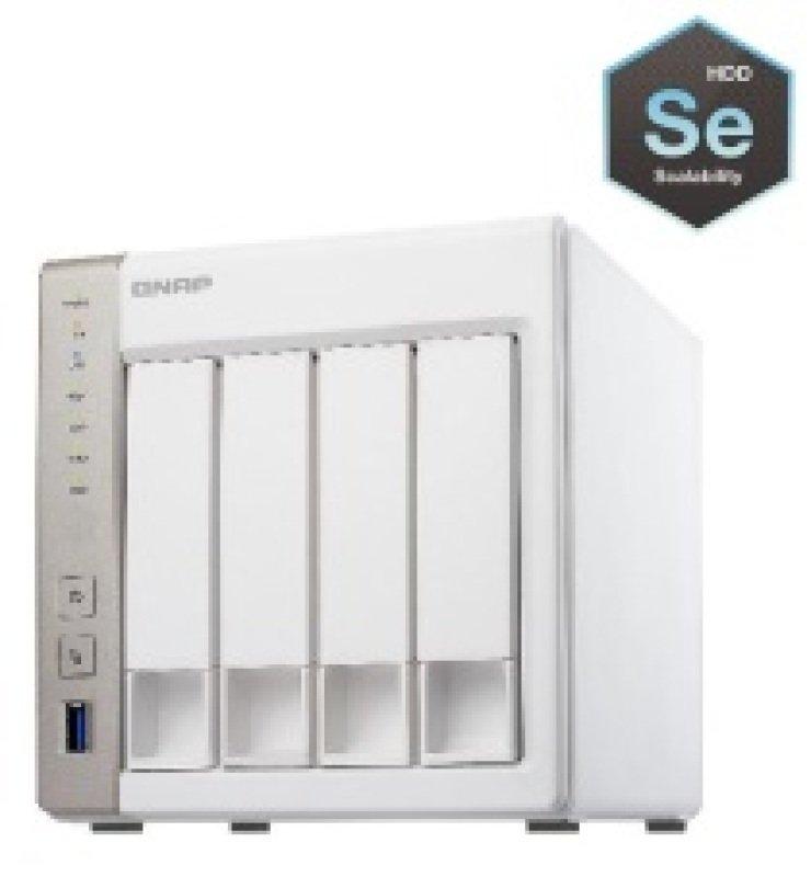 QNAP TS451 12TB (4 x 3TB WD SE) 4 Bay Desktop NAS