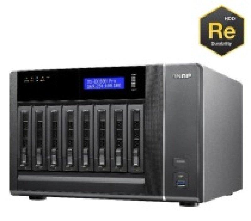 Qnap TS-EC880 PRO 32TB (8 x 4TB WD RE) 8 Bay Desktop NAS
