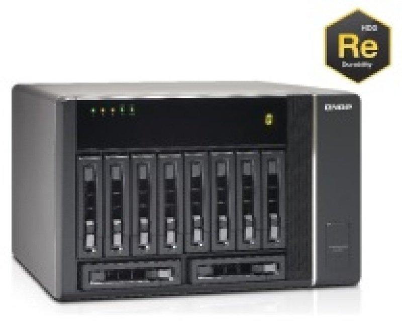 QNAP REXP-1000 Pro 30TB (10 x 3TB WD RE) 10 Bay Desktop Expansion