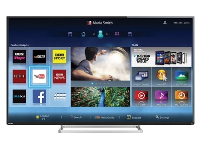 "Image of Toshiba 47L7453DB 47"" Full HD Smart 3D LED TV"