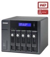 QNAP UX-500P 10TB (5 x 2TB WD RED) SATA/SSD RAID Expansion