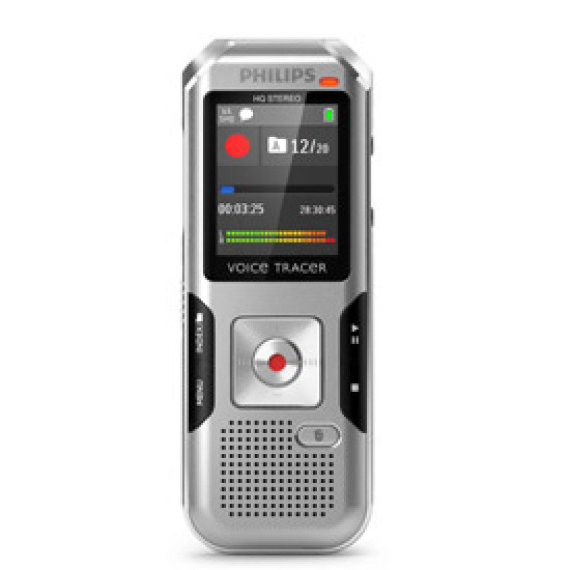 Philips Voicetracer DVT4000 (4gb) Digital Voice Recorder