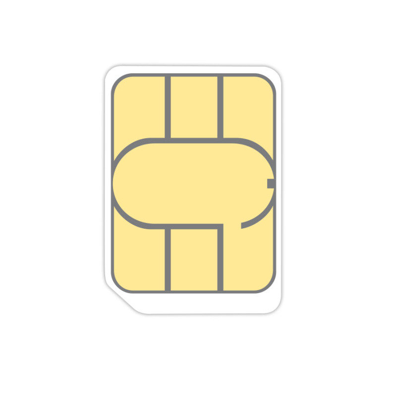 Three Pay As You Go Data Nano Sim with 1GB Data