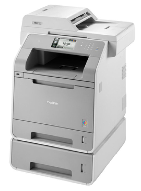 Brother MFCL9550CDWT A4 Color Laser MultiFunction Printer 1528ppm