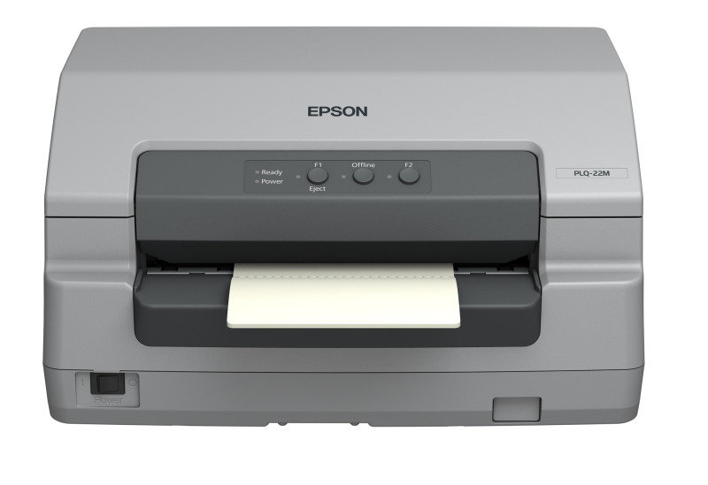 Epson PLQ-22 CS, 24-pin Passbook Printer with Scanner
