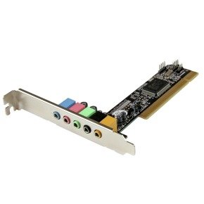 StarTech 5.1 Channel Pci Surround Sound Card Adapter